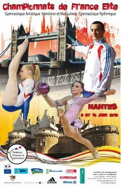 Championnat de France GAM/GR Junior - Senior - Espoir - Avenir les 9 & 10 juin 2012 à Nantes