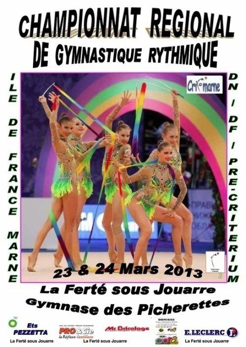 Compétition Régionale Ensembles les 23 & 24 mars 2013 à La Ferté Sous Jouarre