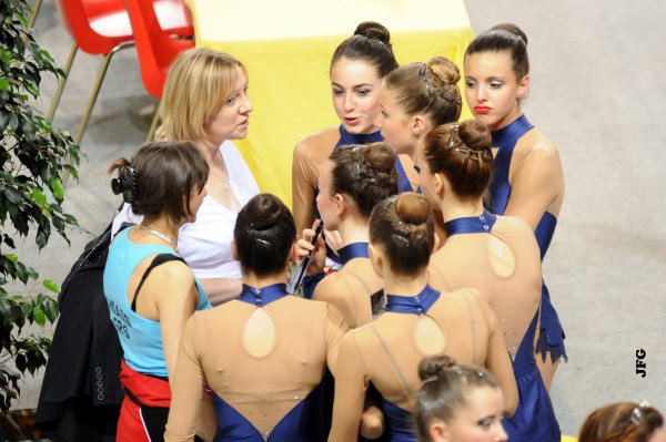 Championnats de France Divisions Nationales et Fédérales - Gymnastique Rythmique du 18 au 19 Mai 2013 à Arnas/Villefranche Sur Saône