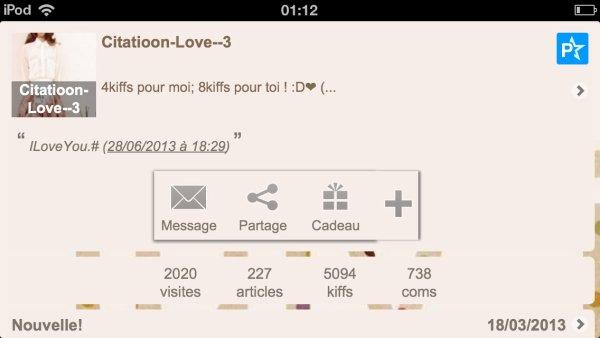 5000kiffs, merci!*-*♥