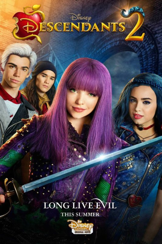 Full. Descendants 2 (2017) Dove Cameron Sofia Carson Cameron Boyce Movies Online