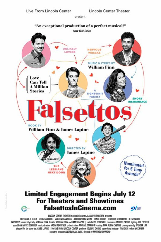 MOVIES.ultraHD~WATCH! Falsettos (2017) Stephanie J. Block Christian Borle Andrew Rannells Summary Movie