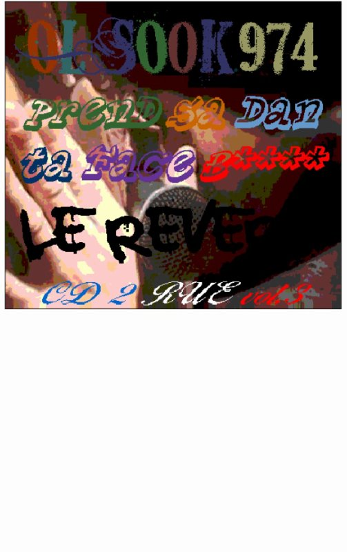 PSDTF b...........OL'SOoK.974........................Le Rever.......2013..jacket face....MDK.