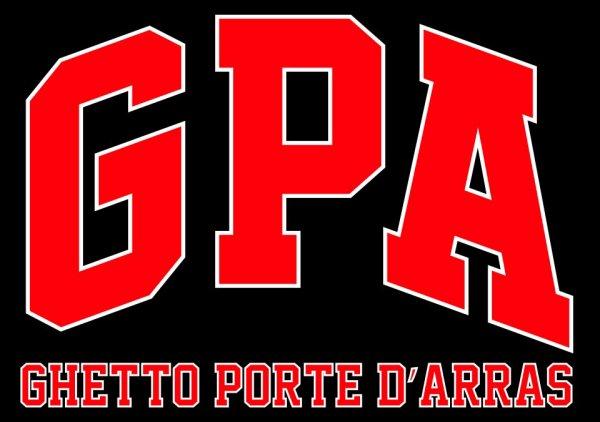"logo ""ghetto porte d'arras"" GPA"