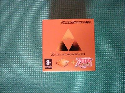 Zelda limited edition pak