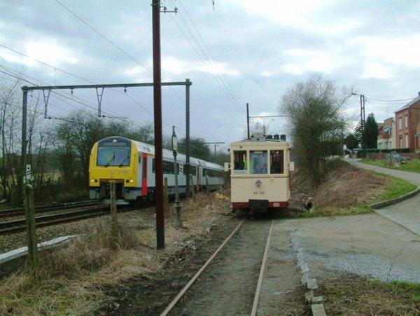 les train roulent