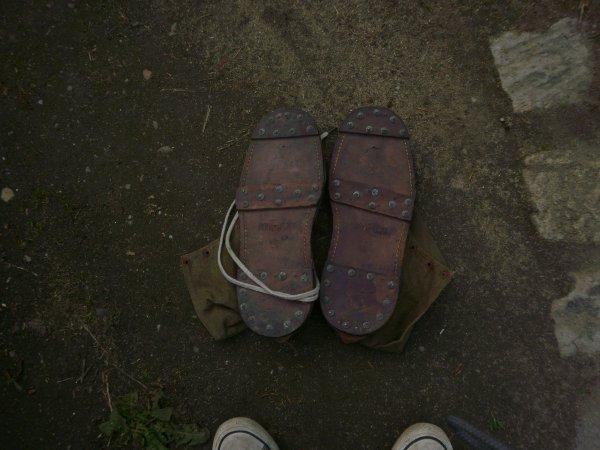 chaussons à neige