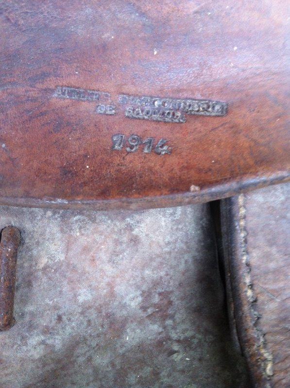 selle modèle 1874