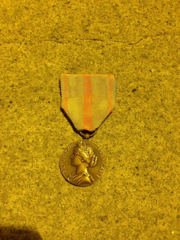 médaille des évadés