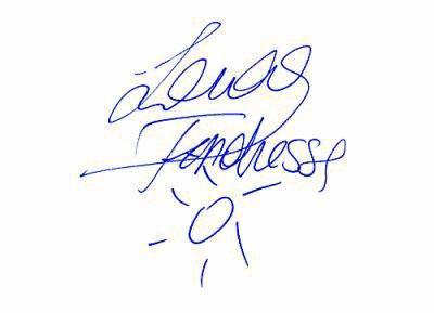 Autographe de Lara