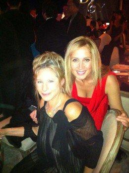 Lara et son idole : Barbara Streisand