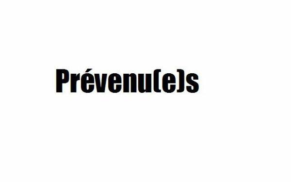 Liste Des Prévenu(e)s  -.^