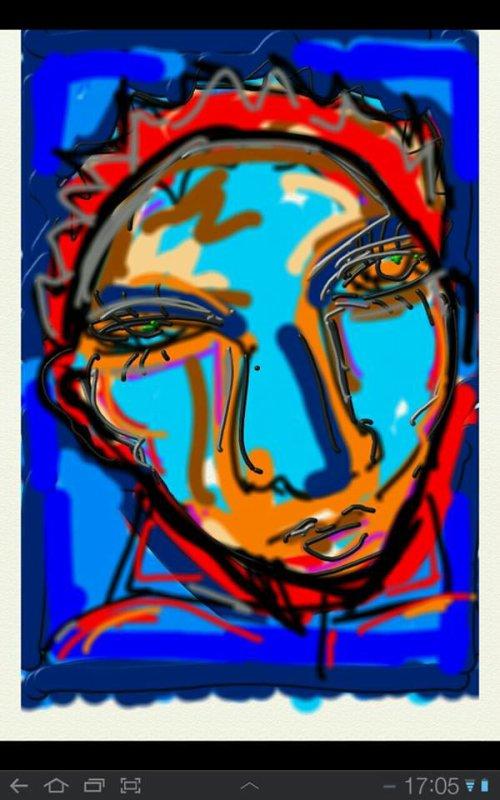 my art, autoportrait