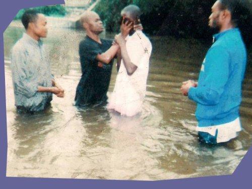 Le jour de Baptême de Matumona Rossy