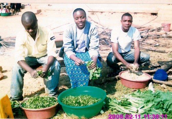 Soeur  Monique  Nsuka au Couvant a Lubumbashi