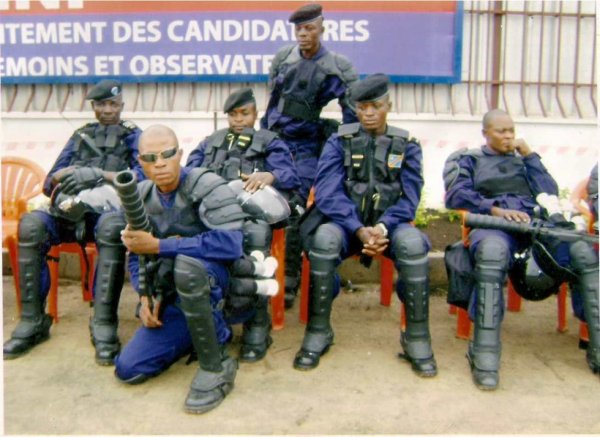 Police Intervention PIR
