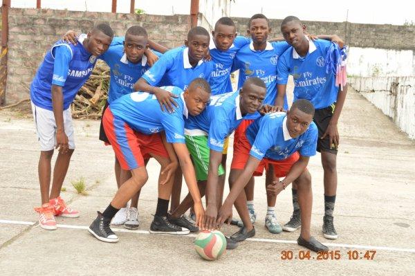 Joueurs du Collège Technique Don Bosco
