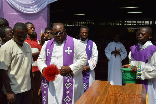 La famille salésien du Congo pleure le père Dominique Simons