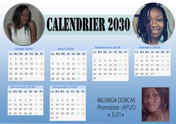 Matumona Rossy calendrier new