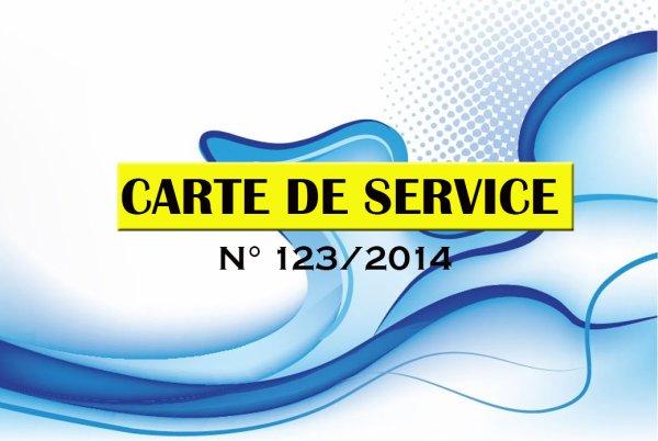 Carte de Service Don Bosco