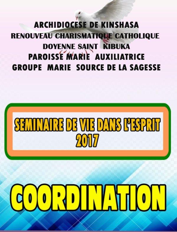 RENOUVEAU CHARIMSTIQUE CATHOLIQUE  SEMINAIRE