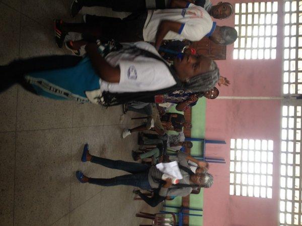 Les finalistes du Collège Don Bosco de l'option Imprimerie