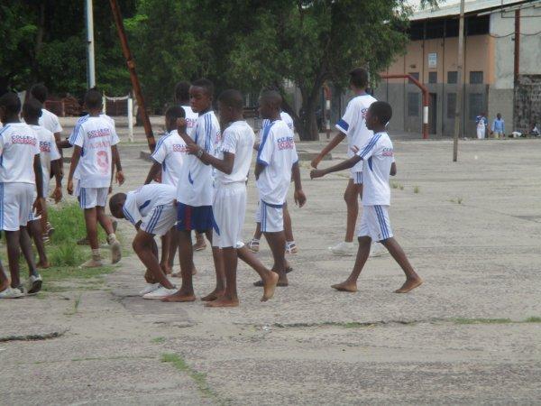 Gymnastique au Collège Don Bosco