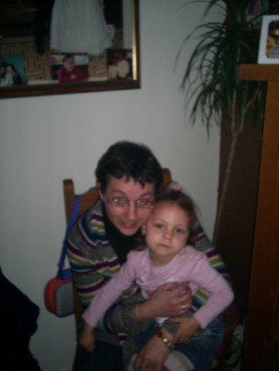 ___________lauriana et sa tante cathy (la marraine a nathan)___________