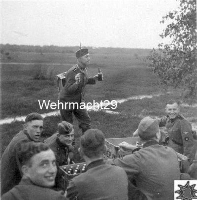 Moment de détente entre camarade de guerre .