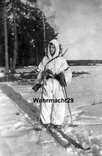 Chasseur Alpins sur le front russe .