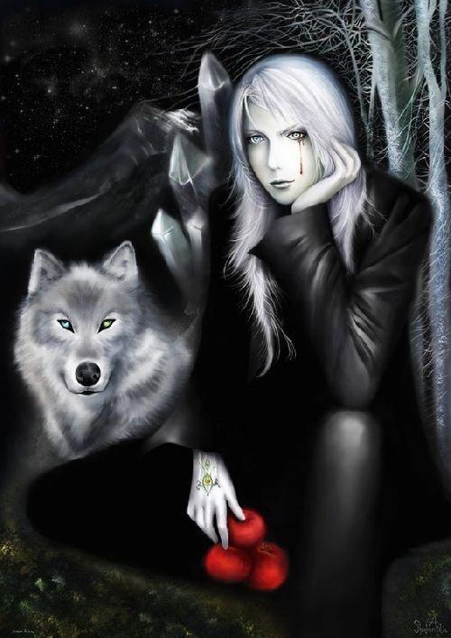 l amitie entre le loup et la gothique