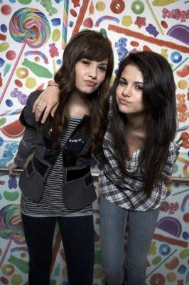 Selena and Demi Lovato