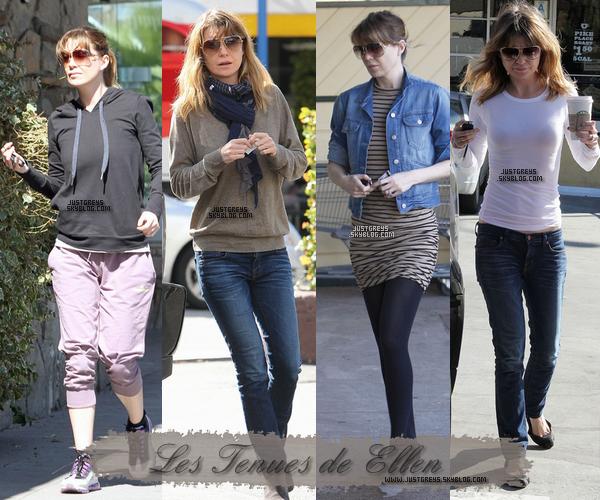 ---- Divers ♦ voici quelques tenues de notre belle Ellen, perso je prefere la troisieme photos. ----