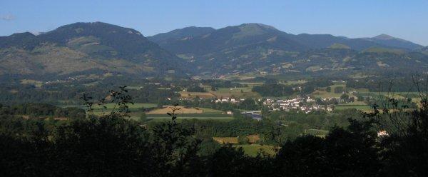 Menditte, au c½ur de la vallée de la Soule, au pied des montagnes basques