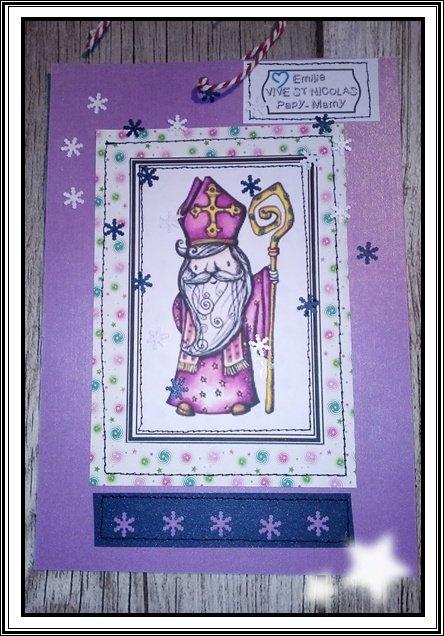 Bonne fête de la  St Nicolas. ...(créations perso)