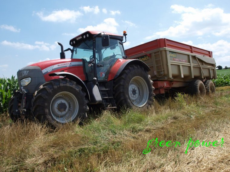 moisson 2014 chantier n°9 nh 8070