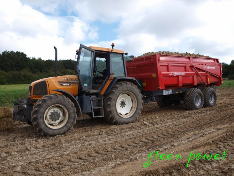 arrachage patates 2014 chantier 1