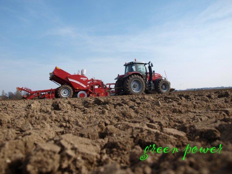 plantation de pdt 2015 chantie 1