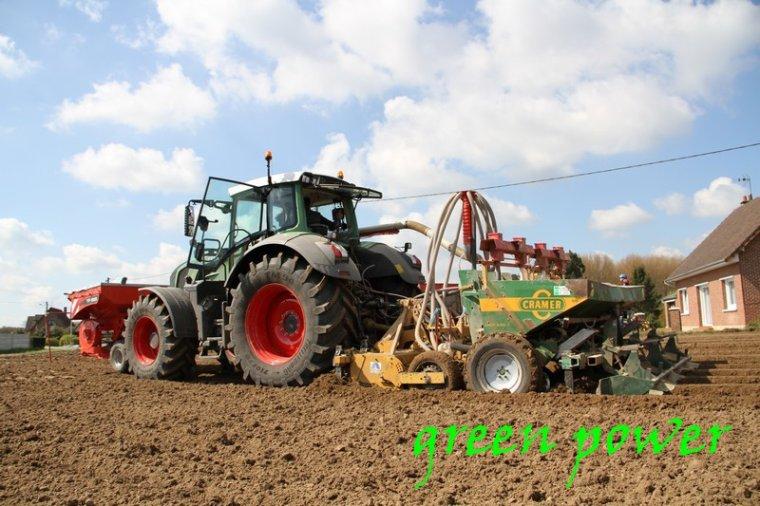 plantation de patates 2016 chantier 10