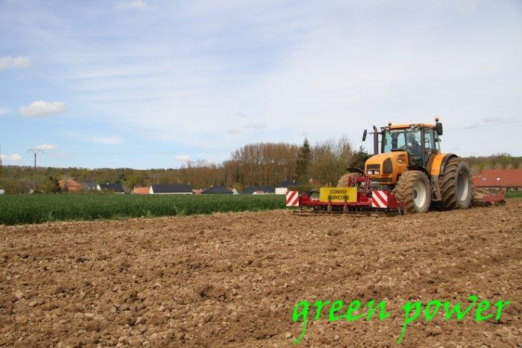 plantattion de patates 2016 chantier 10