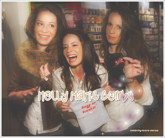 ★★★ Holly Marie Combs  ★★★ Créa 1DREAMisMagic   Créa 2 de skab    Créa 3 de gomz-selly