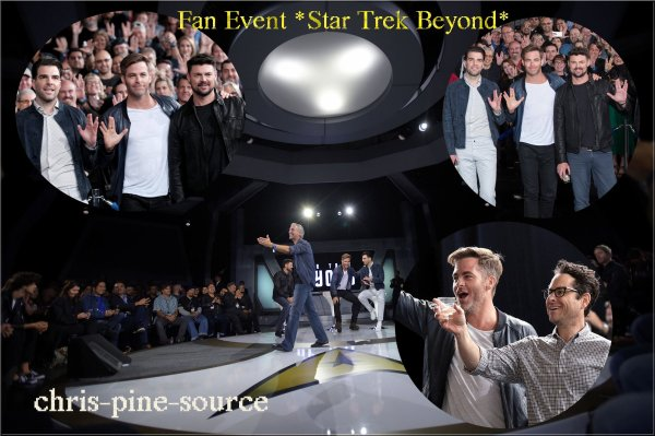 ♠ 20 Mai 2016 : Fan Event *Star Trek Beyond*
