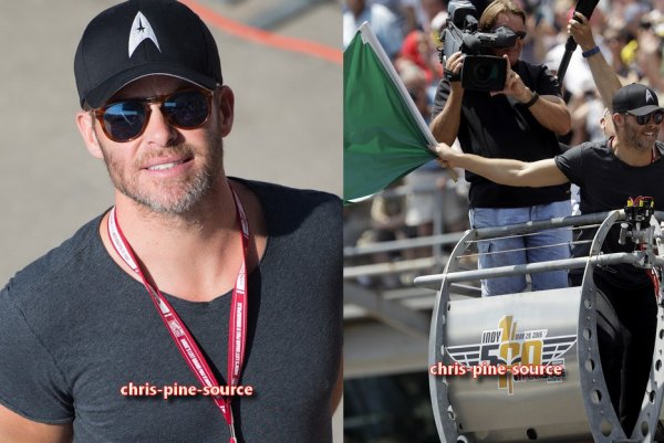 "♠ 29 Mai 2016 : Chris au ""100th Indianapolis 500"""