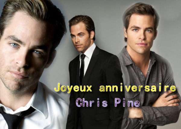 Happy Birthday Chris ♥ 36 ans cela se fête ♥
