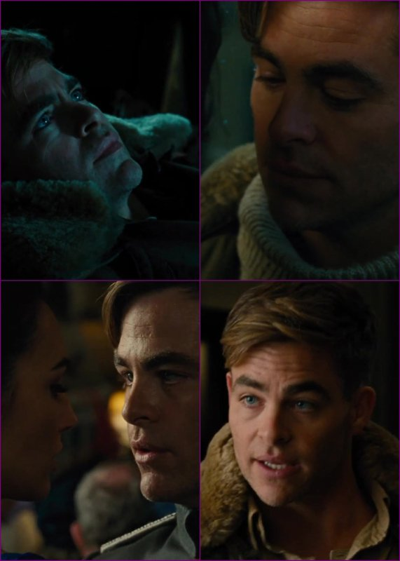 ♠ Film de 2017 de Chris : Wonder Woman / Chris joue le rôle de Steve Trevor ♥