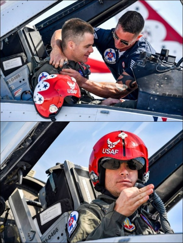 ♠ Chris le 24 Mars à US Air Force Thunderbirds
