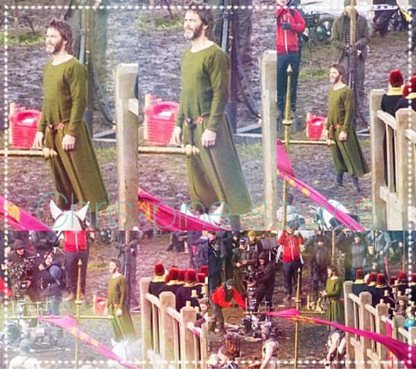 → Chris le 1 Septembre ▬ On the set dans le film Outlaw King (2018) ←