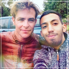 → Chris et Patrick J Adams le 22 Avril au Maroc ▬ Sur le facebook de Hana Ptackova ←