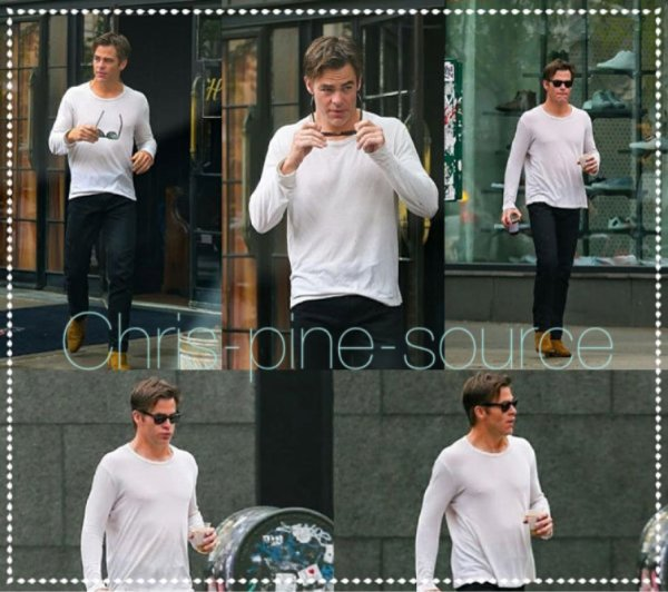 → Chris le 17 Mai ▬ Dans les rues de New York ←