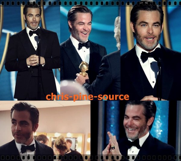 → Chris le 6 Janvier ▬ Au Golden Globe ←